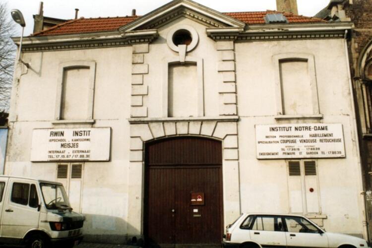 Rue Josaphat 33 (photo 1993-1995)