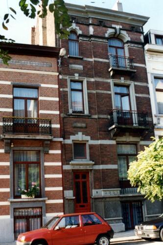 Avenue Jottrand 9 (photo 1993-1995)