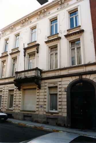 Rue de la Limite 21, maison Goemaere (photo 1993-1995)