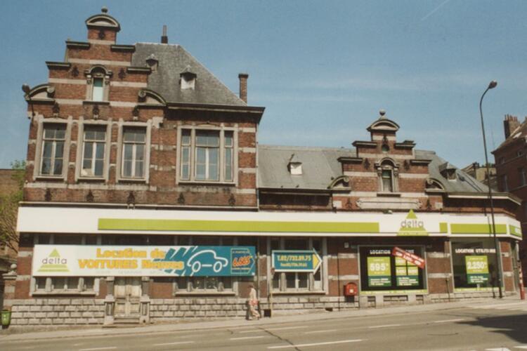 Chaussée de Louvain 195, ancienne gare de la chaussée de Louvain (photo 1993-1995)