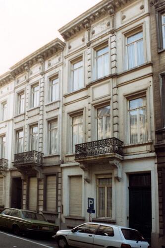 Rue Marie-Thérèse 38 et 40 (photo 1993-1995)
