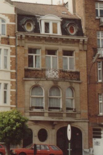 Avenue Paul Deschanel 267 à 273 (photo 1993-1995)