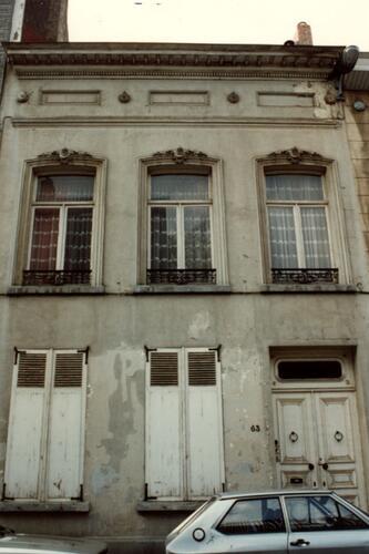 Rue de la Poste 63 (photo 1993-1995)