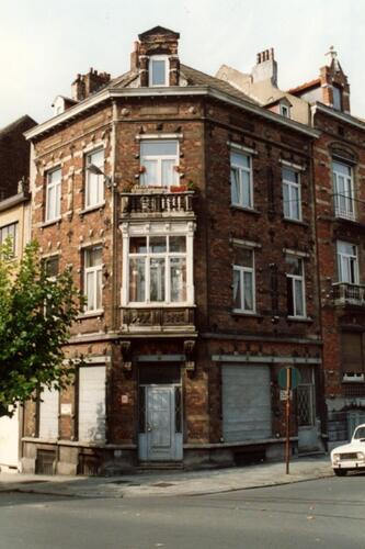 Boulevard des Quatre Journées 1, à l'angle de la rue Verbist (photo 1993-1995)