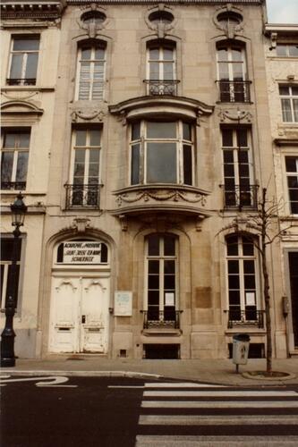 Place Quetelet 3 (photo 1993-1995)