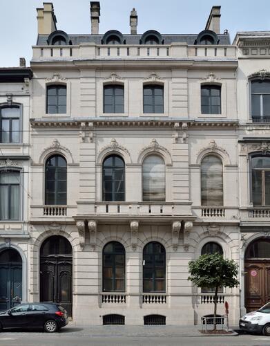 Rue Royale 288, ancien Hôtel Boël, 2018