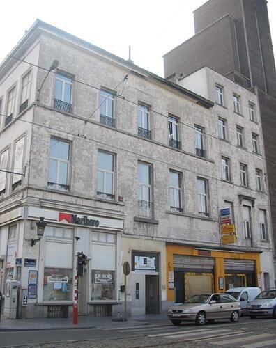 Rue Royale, à droite le no 167 (photo 1993-1995)