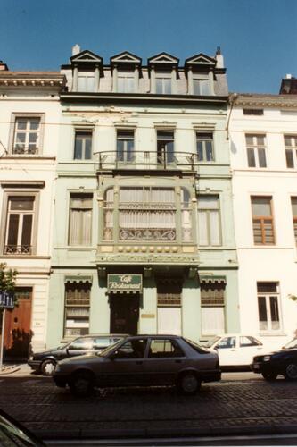 Anc. hôtel Cohn-Donnay, act. brasserie-restaurant de Ultieme Hallucinatie (photo 1993-1995)