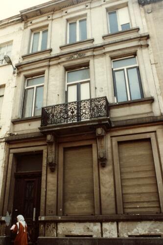 Rue Saint-François 74 (photo 1993-1995)