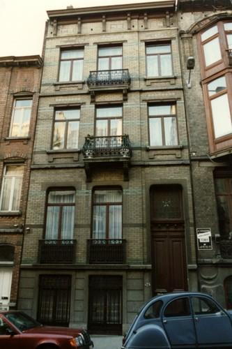 Rue Tiberghien 14 (photo 1993-1995)