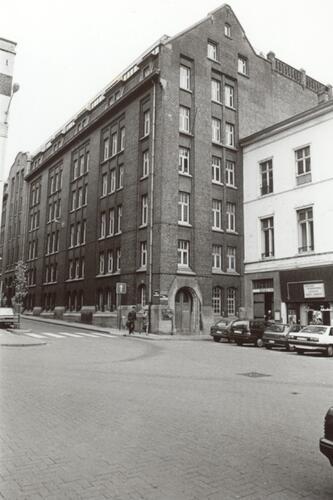 Résidence du Gesù, vue depuis la chaussée de Haecht (photo 1993-1995)