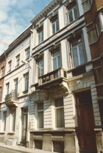 Rue de l'Union, à droite le no 13 (photo 1993-1995)