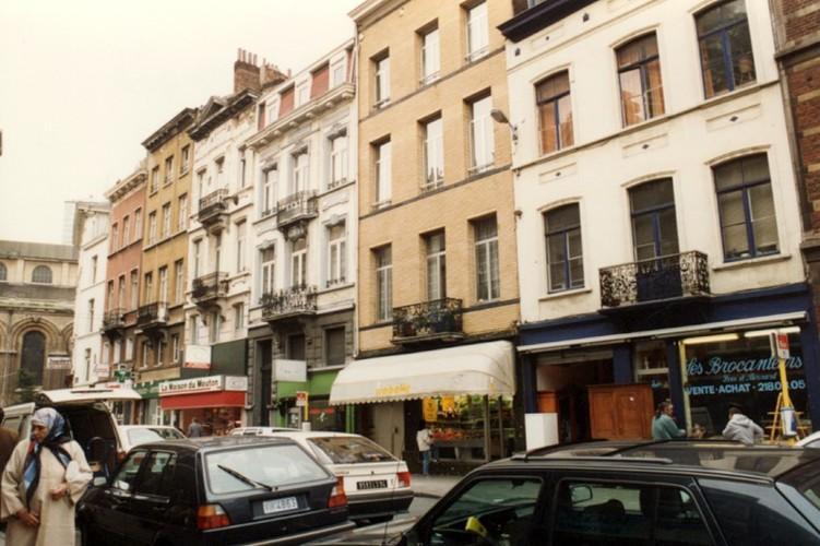 Rue Verbist 1 à 13 (photo 1993-1995)