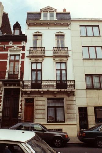 Rue Verbist 40 (photo 1993-1995)