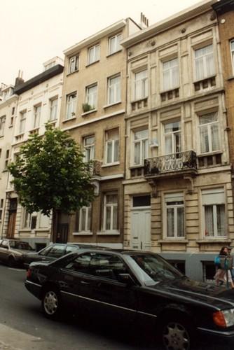 Rue Verbist 48, 50 et 52 (photo 1993-1995)
