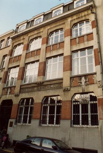 Rue de Verviers 18, établissement scolaire Saint-Louis (photo 1993-1995)