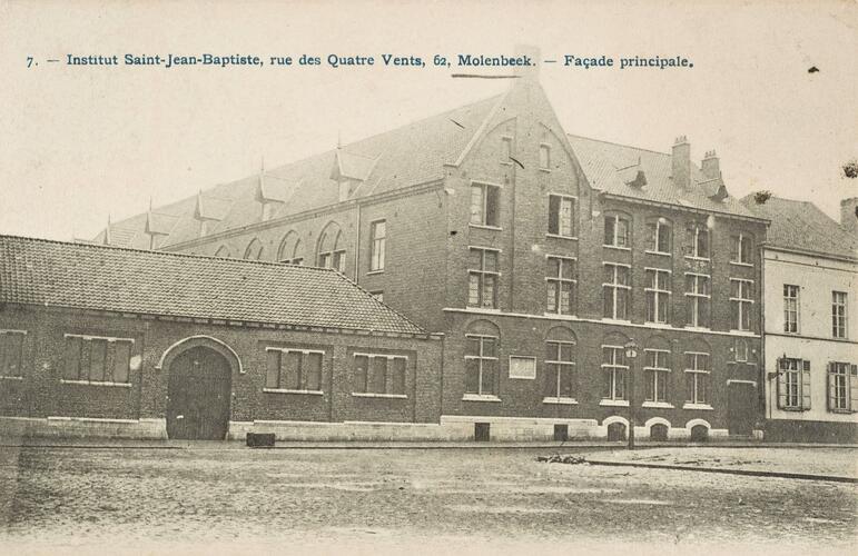 Rue des Quatre-Vents 62, Institut Saint-Jean-Baptiste (Collection Dexia Banque-ARB_RBC)