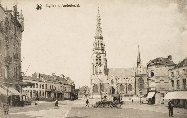 Eglise Saint-Guidon à Anderlecht (coll. Belfius Banque © ARB-SPRB)