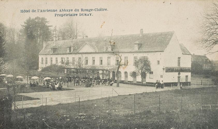 L'ancienne Abbaye du Rouge-Cloître (Collection Belfius Banque-Académie royale de Belgique © ARB – urban.brussels, DE31_141