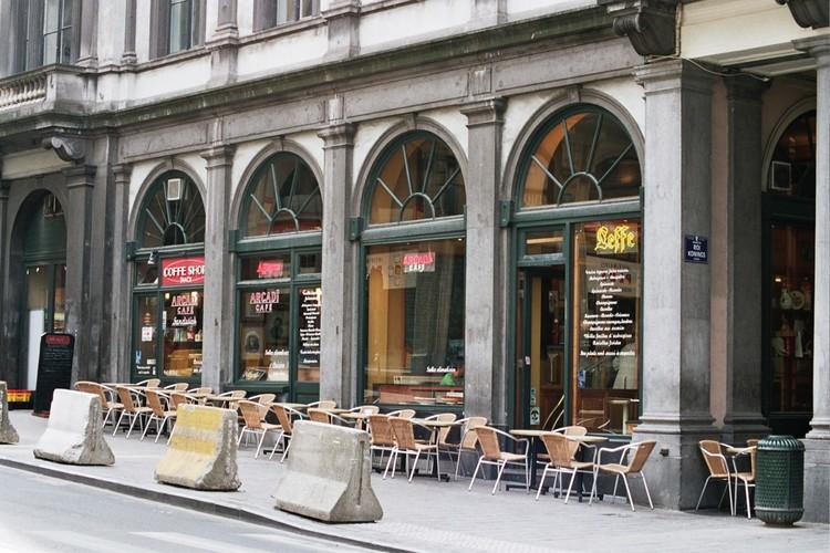 Arcades, Galerie du Roi, Bruxelles, 1846-1847, architecte Jean-Pierre Cluysenaar, 2005
