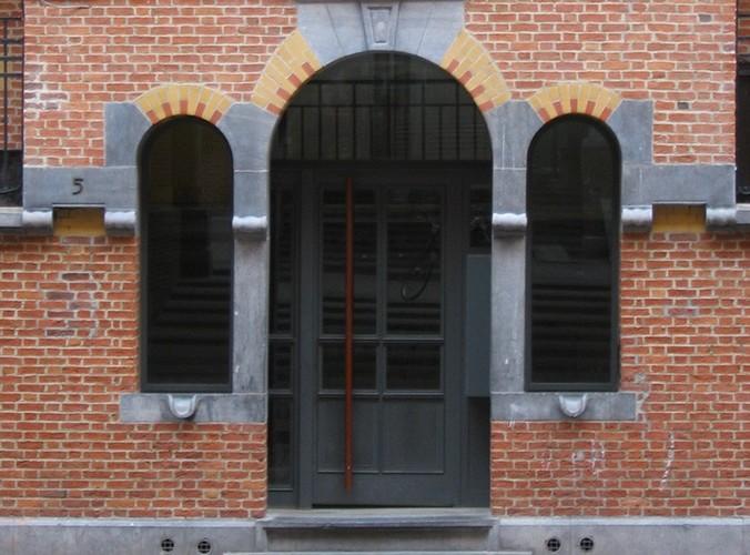 Drielicht, 'Cité Hellemans', Goudsmedenstraat, Brussel, 1906, arch. E. Hellemans, 2005