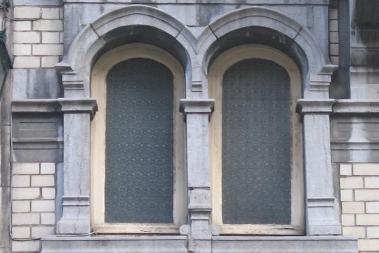 Gekoppelde vensters, Amerikastraat 32, Sint-Gillis, 1902 (foto s.d.)