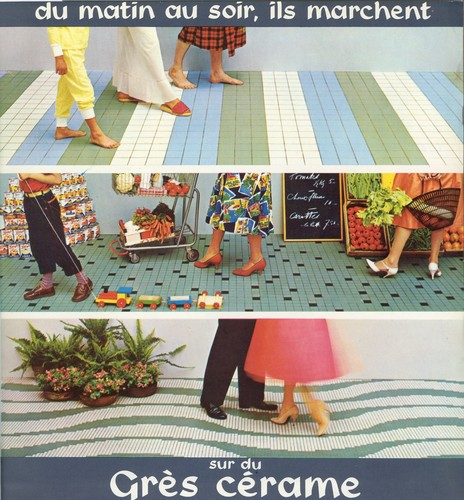 Publicité pour le grès cérame (<i>Habitat et habitation</i>, 2, 1960)