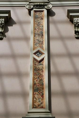 Ionische pilaster, Koningsgalerij 1, Brussel, 1846-1847, arch. Jean-Pierre Cluysenaar, 2005