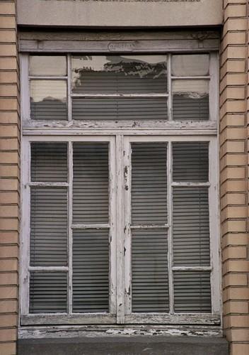 Raam met roedenverdeling, Veldstraat 16, Etterbeek, 1933, 2005
