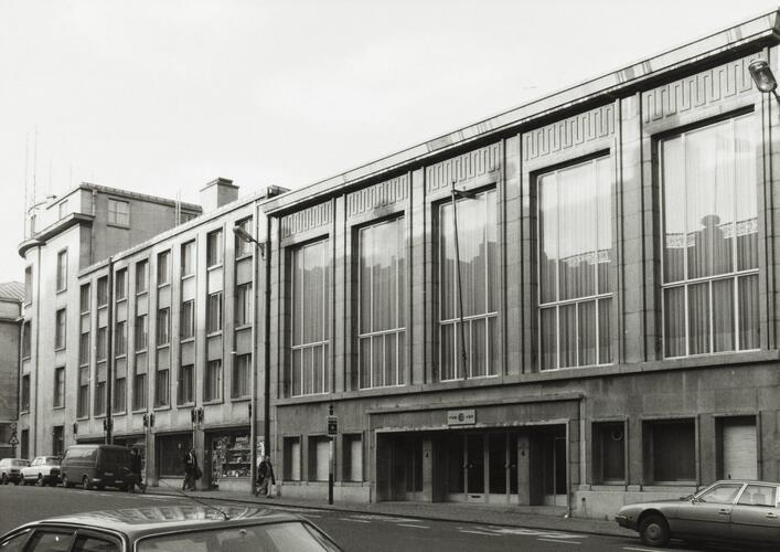 rue Ravenstein 4, 1980