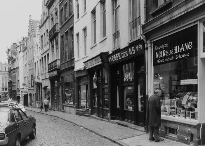rue des Chapeliers, n° pairs, 1980