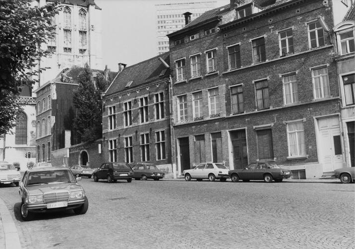 Kapellestraat, straatbeeld, 1980