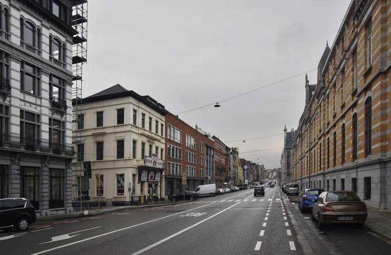 Rue Picard, vue vers l'ouest, (© ARCHistory / APEB, 2017)