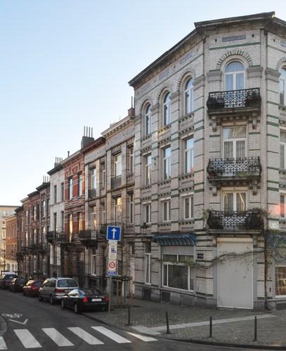 Rue Ernest Discailles, vue depuis la rue Henri Bergé, 2012