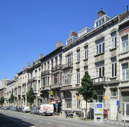 Avenue de la Couronne 68 à 90, enfilade, 2011