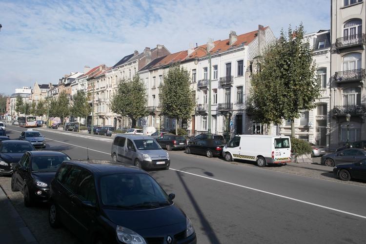 Boulevard Leopold II, côté impair vers al place Eugène Simonis, 2014