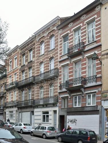 Chaussée d'Alsemberg 141, 143-145, 147-149, 151-153, 2016