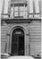 rue Brederode 11-13, 13A. Ancienne Banque d'Outremer ou Ancienne Banque Congo Belge, détail porte, 1983