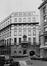 Rue de la Chancellerie 17-17A, angle rue des Colonies 29-31. Banque de Paris et des Pays-Bas, 1980