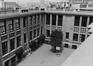 Rue Ernest Allard 49. Ancienne École Moyenne A, Athénee Robert Catteau, cour intérieure, 1980