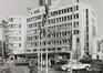 Boulevard de l'Impératrice 11-15, angles rue Cardinal Mercier et Putterie. Air Terminus de la Sabena, 1980
