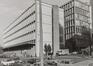 Boulevard de l'Impératrice 17-19, angles rue Cardinal Mercier et Putterie. Ancien Centre télégraphique, 1980