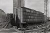 boulevard de l'Impératrice 17-19, angles rue Cardinal Mercier et Putterie. Ancien Centre télégraphique, 1990