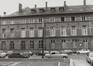 rue aux Laines 23, angle place Poelaert. Hôtel de Mérode-Westerloo., 1980
