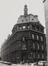 Leuvenseweg 15 tot 21, hoek Drukperssstraat ; binnenblok Leuvenseweg, Drukpersstraat, Hertogstraat en Henri Beyaertstraat. Voormalig Ministerie van de Spoorwegen, Post, Telegrafie en Zeevaart, 1981