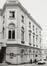 Rue de la Régence 2. Ancien Palais du Comte de Flandre. Cour des Comptes, façade rue de Namur 1-3, 1981
