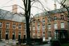 rue de Namur 4-12. Ancienne abbaye de Coudenberg, façades arrières., 1988