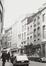 rue de Namur 33 et suivantes, depuis angle rue des Petits Carmes, 1981