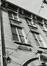 Rue de la Paille 24. Lycée H. Dachsbeck, détail étages, rue Sainte-Anne 7, 1980
