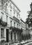 place du Petit Sablon 14. Hôtel de maître néoclassique., 1980